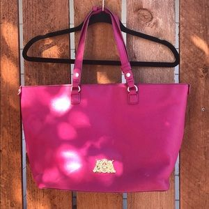 Hot Pink Juicy Couture Tote Purse